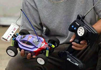 MB4 Buggy 4 WD rc aeromodelling jakarta indonesia - silver arrow